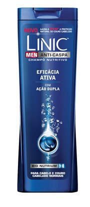 Picture of CHAMPÔ LINIC HOMEM EFICACIA ACTIVA 250ML