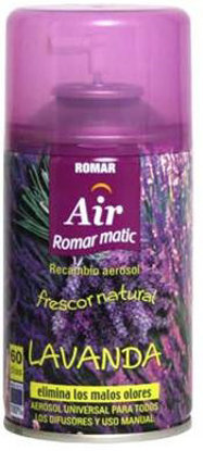 Picture of Ambientador Romar Lavanda recarga 250ml