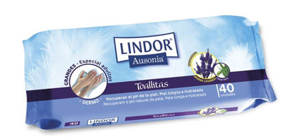 Picture of Toalhitas Adulto Lindor 40 unid