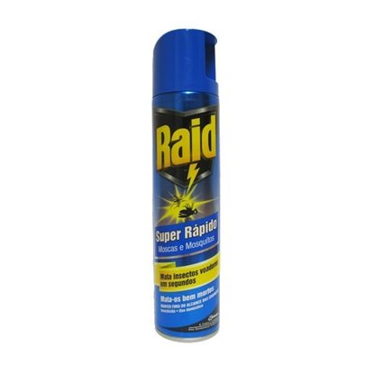 Picture of INSECTICIDA SPRAY RAID SUPER RAPIDO 400ML