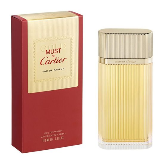 Picture of PERFUME CARTIER MUST GOLD EDP 100ML