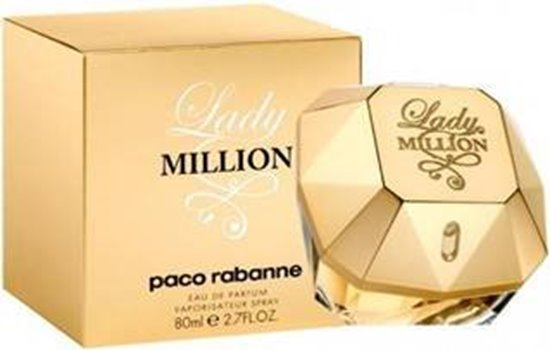 Picture of PERFUME PACO R LADY MILLION EDP 80ML