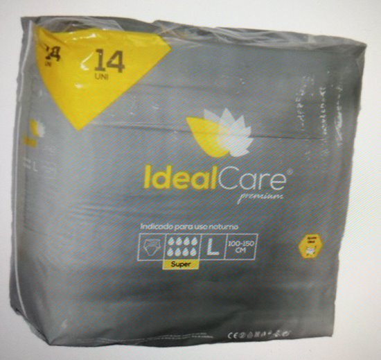 Picture of CUECA IDEALCARE PREMIUM SUPER L 14