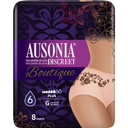 Picture of CUECA AUSONIA DISCREET BOUTIQUE GRANDE 8 UNI